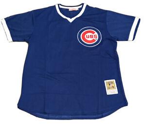 Ryne Sandberg Chicago Cubs Retro Throwback Jersey Mens XL NWT 1980s MESH Blue
