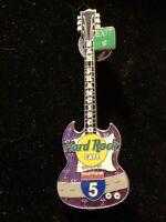 Hard Rock Cafe SAN FRANCISCO 1999 Interstate 5 Guitar PIN #2 of 7 HRC #8371 I-5