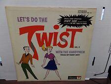Let's Do The Twist w/ The Candy Men Vol.3 FM-114 Diplomat 33rpm 081616DBE