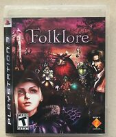 Folklore (Sony PlayStation 3, 2007) PS3, Complete in Box CIB, Registration Card