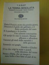 ELIOT-LA TERRA DESOLATA-FRAMMENTO DI UN AGONE-MARCIA TRIONFALE-EINAUDI 1965