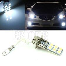 H3 5050 SMD 12-LED Bright White Car Fog Signal Head Light Driving Lamp Bulb 12V