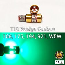 T10 W5W 194 168 2825 12961 3rd Brake Light Green 27 Canbus LED M1 For Acura M