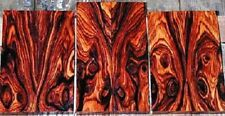 Exotic Dalbergia Retusa Cocobolo Figured Rosewood Turning Blank SUPER DEAL