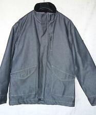 RWD veste homme ado taille XL jean denim noir doublé polaire