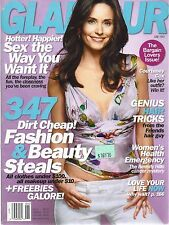 US GLAMOUR JUNE 2003 COURTNEY COX COVER