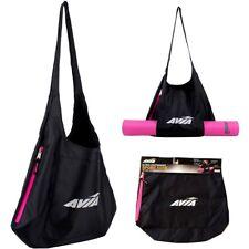 Avia Sport Tote Yoga Work out Bag Ultra Lightweight Black Pink ZIPPER 18 X16 6d1b4bd2c17e5