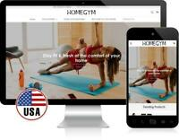 Home Workout Accessories | FREE DOMAIN + HOSTING |Turnkey Dropshipping