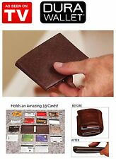 Dura Wallet Value 1  Pack   - The Worlds Thinnest, Durable Leather Wallet