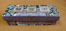 Abbington Park Punch Studio 5 Art In Motion Butterfly Butterflies Keepsake Box