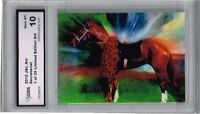 2012 Secretariat Horse Racing Art Card  of 25 Gem Mint 10