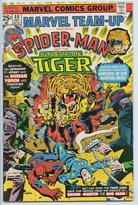 MARVEL TEAM-UP #40 - 7.0, WP - Spider-Man/Human Torch/ Sons of the Tiger