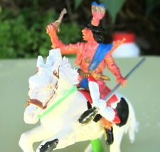 Britains Deetail Mounted Apache on Pinto Horse with Pistol and Lance