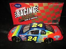 RCCA NASCAR 1/24 Club Bank Jeff Gordon #24 Dupont 1998 Chevrolet Monte Carlo