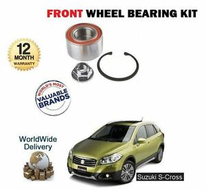 FOR SUZUKI SX4 S CROSS 1.6 M16A 2013-> NEW 1 X FRONT WHEEL BEARING KIT