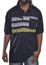 Akademiks Men's $52 Vine Rugby Slim Fit Polo Shirt Size 2XL