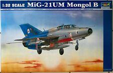 Trumpeter   MiG-21UM Mongol B   1:32