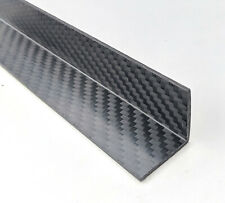 Carbon fibre fiber angle strip 300mm x 25mm x 2mm structural fabrication inc VAT