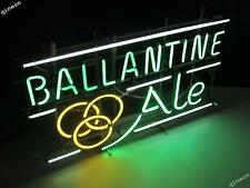 Ballantine Ale 1950's Home Beer Bar Club Real Neon Light Sign Fast Shipping