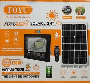 Nuovi Fari Solari 120 Watt 2021