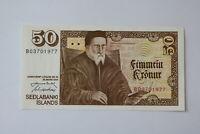ICELAND 50 KRONUR 1961 UNC B20 BK305