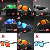 DUBERY Men's Sport Polarized Driving Sunglasses Outdoor Riding Fishing Goggles C