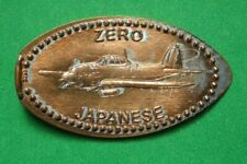 Zero Japanese elongated penny Usa cent Flying Machines Series coin