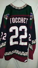 PHOENIX COYOTES Rick Tocchet game-worn 1999-00 set 1 road jersey (has wear+LOAs)