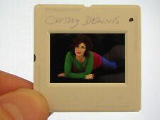 Original Press Photo Slide Negative - Cathy Dennis - 1990's - B