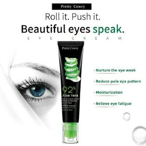 100% Natural Aloe Vera Eye Gel Ball Massage Dark Circles Moisturizing Wrinkle