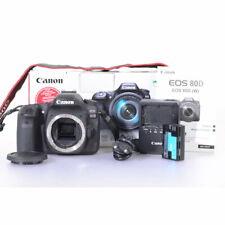 Canon EOS 80d 24.2 MP DSLR-VIDEOCAMERA-FOTOCAMERA DIGITALE-CAMERA-Body-DSLR
