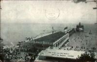 Crystal Beach Ontario Pier Steamboat etc c1910 Postcard
