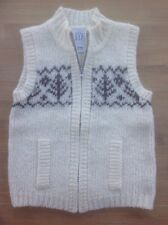 Gap Knitted Waistcoat With Zip Front, Age 3 Years