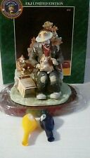 Emmett Kelly Jr Kittens For Sale Figurine 9713 Limited Edition Only 7,500, New