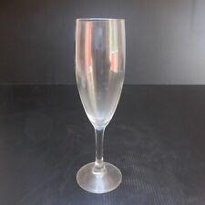 Flute cristal ARC vin champagne vintage art déco table gastronomie France N6250