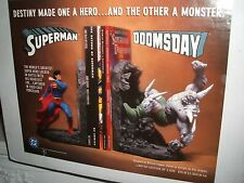 DC Comics Superman Doomsday Book Ends Nuevo En Caja Ltd Ed De 2030 Raro
