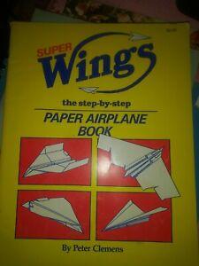 Super Wings Step by Step paper airplane book kids craft fun