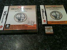 NINTENDO DS GAME MORE BRAIN TRAINING - VERY GOOD CONDITION