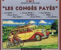 Chansons Actualités-Les Congés Payés Jean Gabin, Elyanne Cellis, Henri Ga.. [CD]