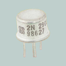 2N2905 LOT OF 100 SGS SILICON PNP TRANSISTOR 0.6 W 0.6 A ~ 2N2904, 2N5153