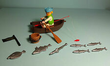 Playmobil Pirates ~ Pirat mit Ruderboot / Row Boat (3792)
