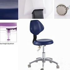 Dental Medical Office DR'S Stools Doctors Stools Adjustable Mobile Chair PU New
