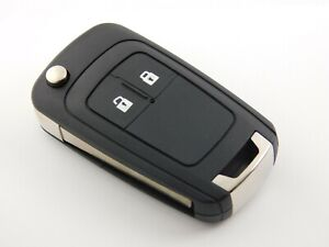 For Vauxhall Opel Astra Insignia 2 Button Remote Flip Key Case Shell Cover
