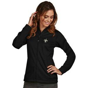 NWT Antigua Women's New Orleans Saints Full-Zip Jacket Sz: Medium