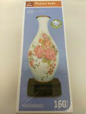 Pintoo Puzzle Vase 160 Piece 3D Vase Flower Rose Design