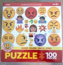 EuroGraphics Kids  Emoji Puzzle Anger 100-Piece Jigsaw Puzzle