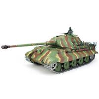 US Stock 3818 German Tiger1 RTR RC HengLong Tank Upgraded Metal Ver Gray 1//16