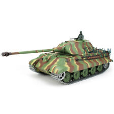 US Stock Henglong Upgraded Metal 3888 1/16 German King Tiger RC Tank Sound Smoke