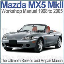 buy mazda mx 5 car service repair manuals ebay rh ebay co uk miata workshop manual pdf mx5 workshop manual download