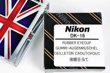 BNIB GENUINE ORIGINAL NIKON DK-16 RUBBER EYECUP FOR D70 D40 D40X F75 F65 F55 N75